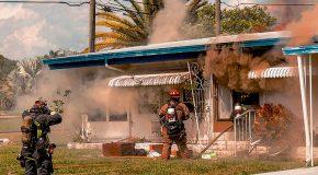 L'ex-mari incendie l'ancien domicile conjugal