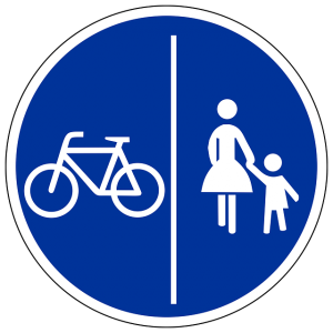 amende-cycliste-velo-trottoir