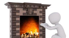 La cheminée mal posée provoque l'incendie de la maison