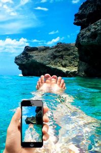 smartphone-chute-eau