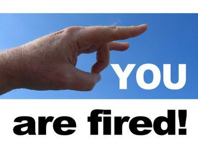 # licenciement Critique entreprise internet