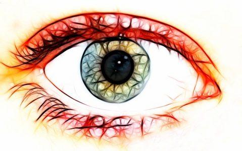 # yeux lentilles risque infection oculaire