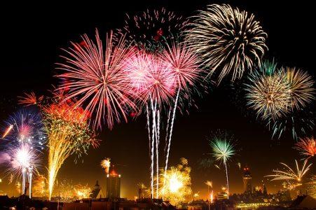 # Etoiles feux d'artifice foudre réglages photos smartphone